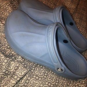 Unisex Light Blue Crocs